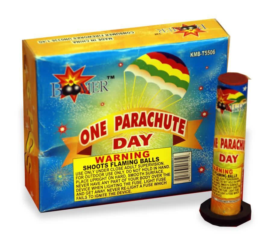 Boomer Single Day Parachute, BM - Pack 6/1