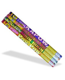 Roman Candle Assorted 5 Ball, WC - Pack 4/1