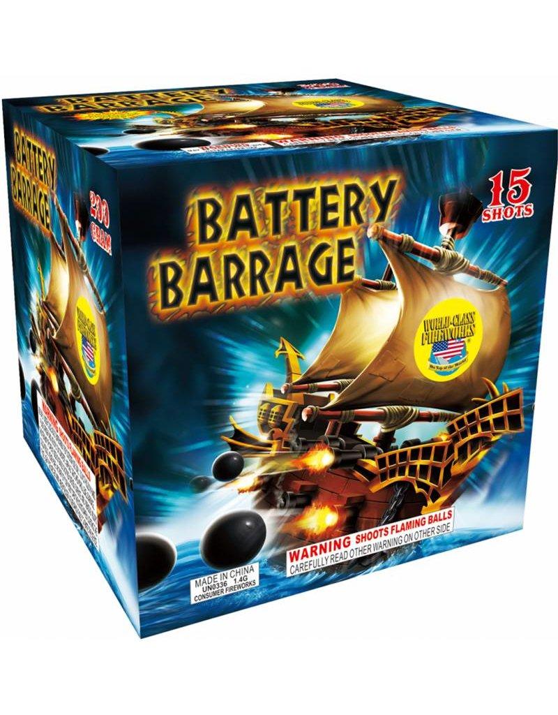 World Class Battery Barrage