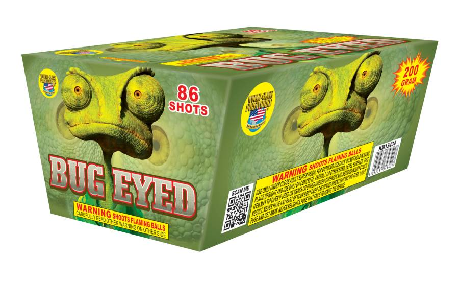 World Class Bug Eyed - Case 8/1