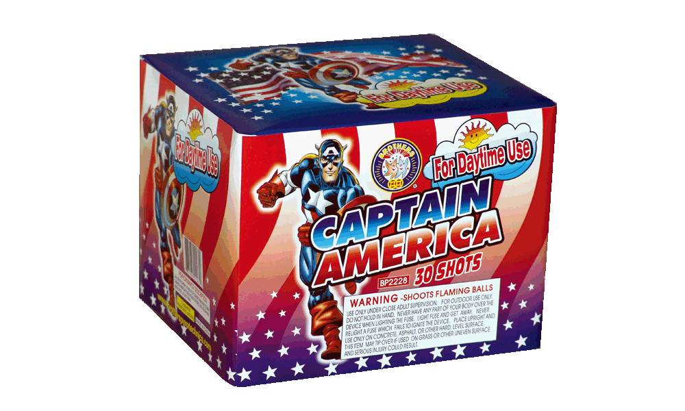 Brothers Captain America