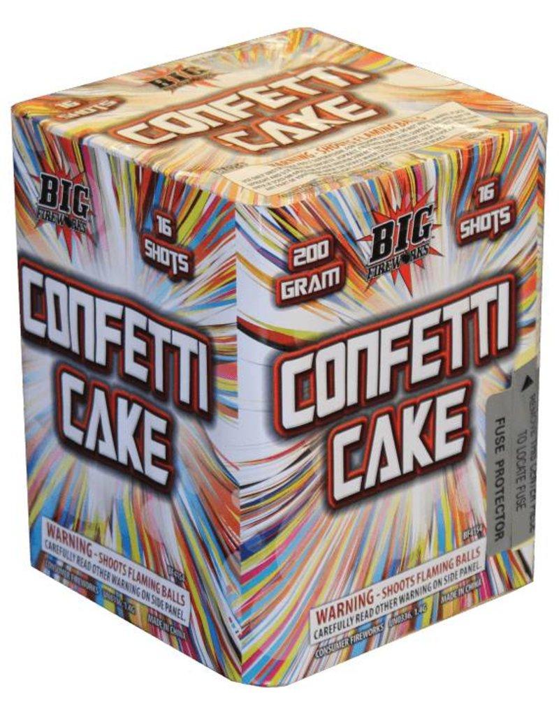 Big Confetti Cake