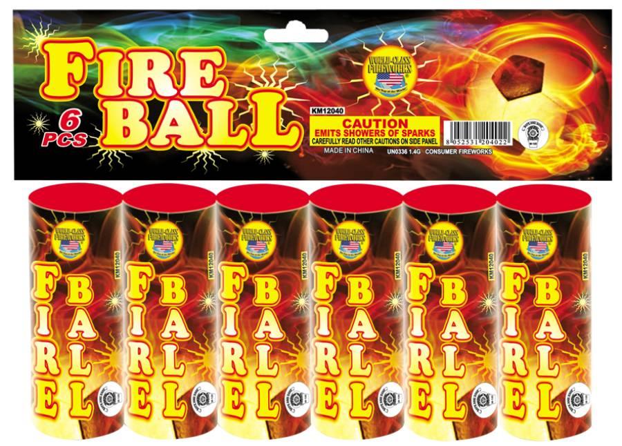 World Class Fire Ball - Pack 6/1