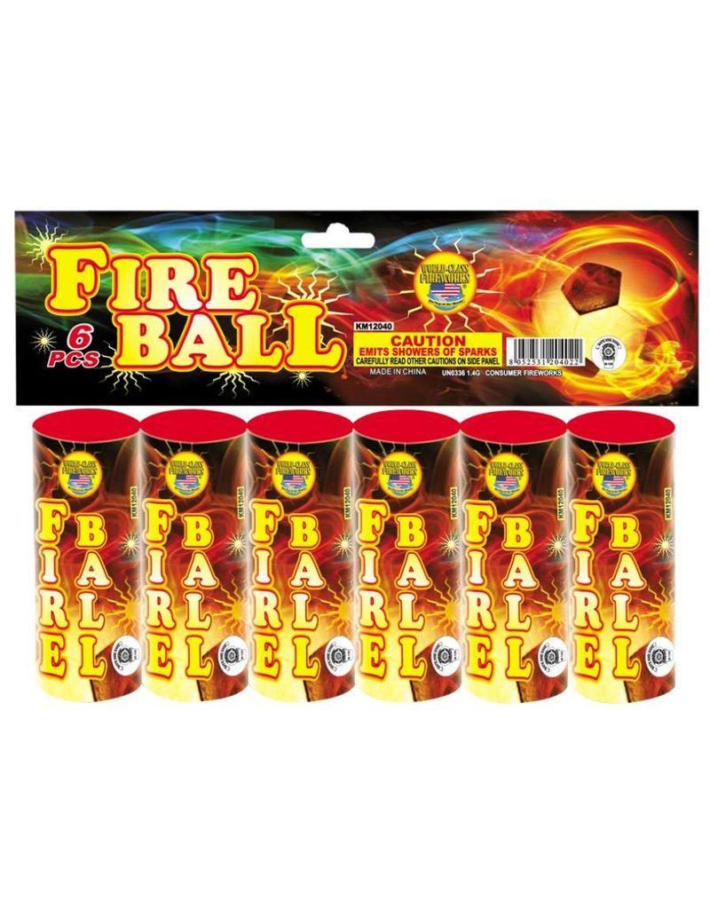 World Class Fire Ball - Case 72/6