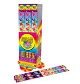 World Class Fluorescent Sparklers 14in, WC - Pack 4/1