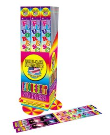 Fluorescent Sparklers 14in, WC - Pack 4/1