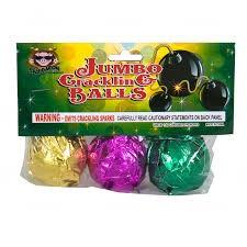 Sky Bacon Jumbo Crackling Ball, SB - Pack 3/1