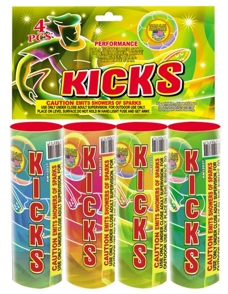 World Class Kicks - Case 100/4