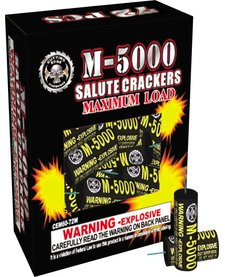 M-5000 Salute Crackers, CE - Box 72/1
