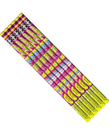 Roman Candle 10 Ball w/ Tail - Pack 6/1