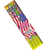 Cutting Edge Roman Candle 8 Ball (Assorted), CE - Case 24/4