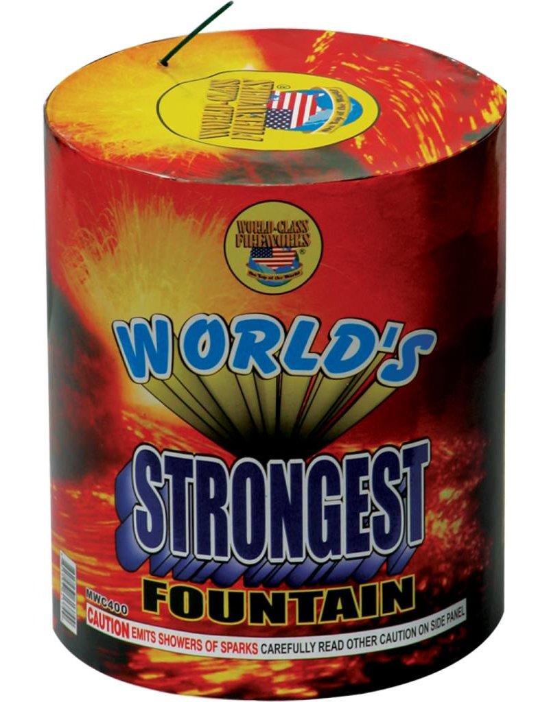 World Class World's Strongest Fountain