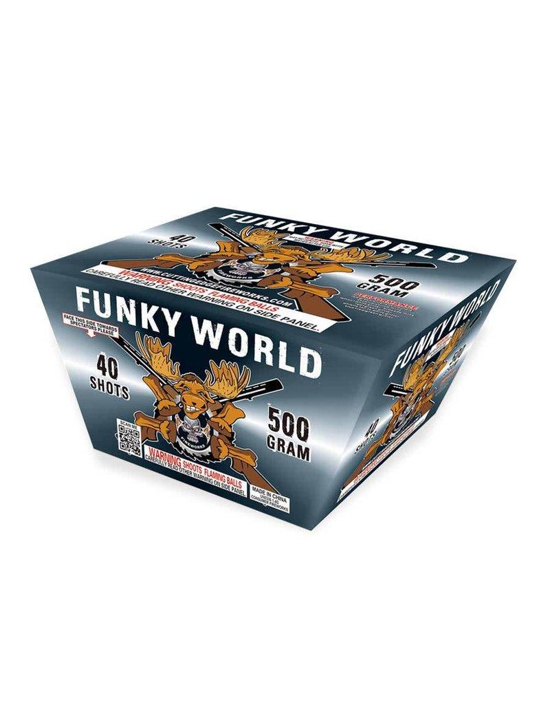 Cutting Edge Funky World - Case 4/1