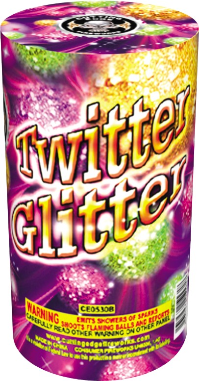 Cutting Edge Twitter Glitter Large, CE - Case 18/4