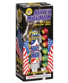 Super Magnum w/ Tail - Case 12/12