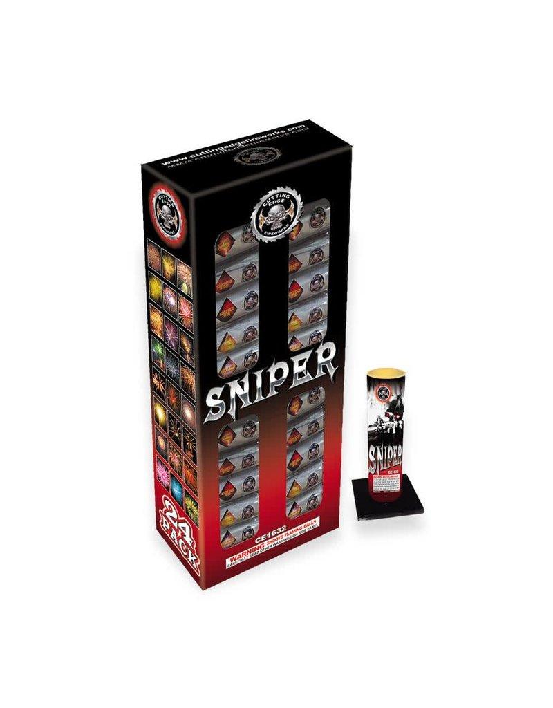 Cutting Edge Sniper 60 Gram Canister - 24 shells