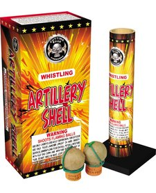 Whistling Artillery Shell, CE - Case 12/6