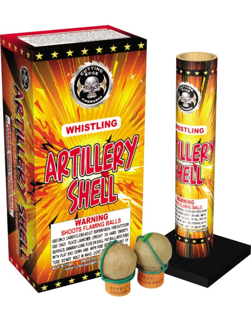 Cutting Edge Whistling Artillery Shell, CE - Case 12/6