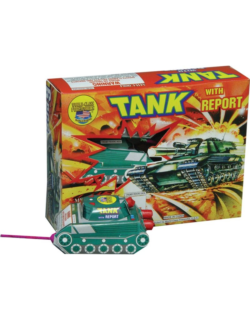 Boomer Tank with Report, BM - Box 12/1