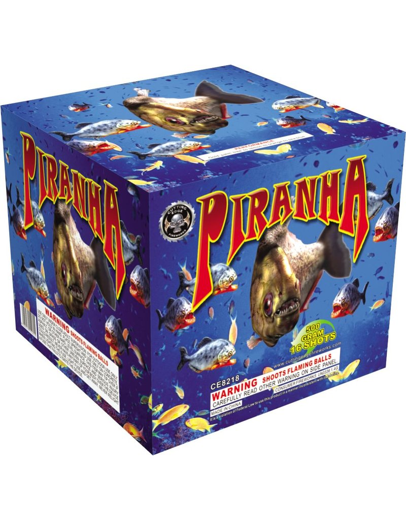 Cutting Edge Piranha - Case 4/1