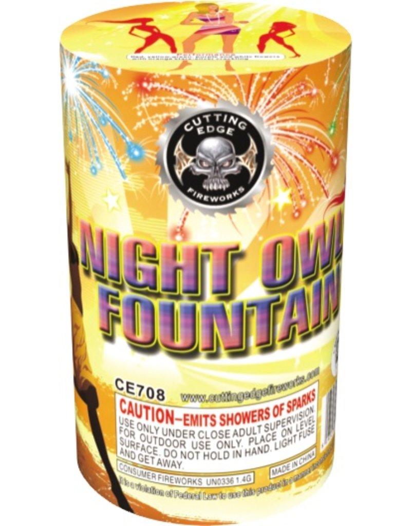 Cutting Edge Night Owl Fountain - Case 40/1