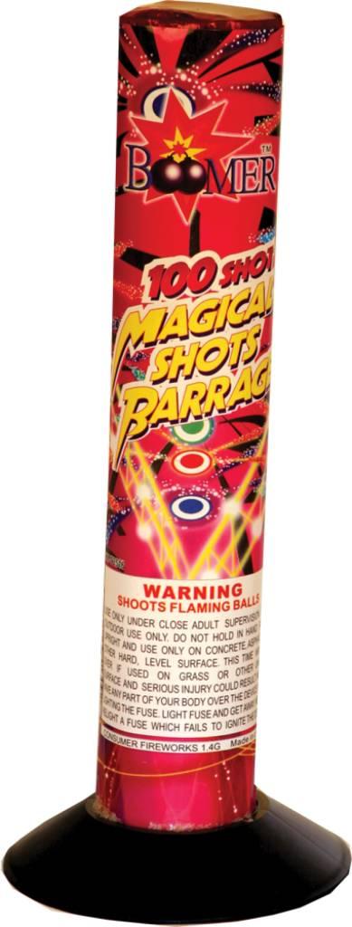 Boomer Magical Barrage 100s, BM - Case 40/1