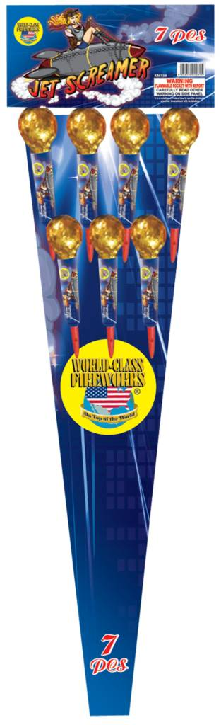 World Class Jet Screamer Rocket - Case 16/7