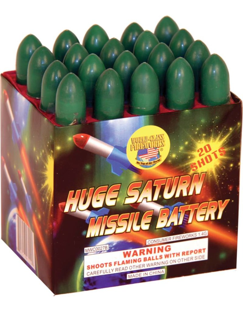 World Class Huge Saturn Missile 20s - Case 30/1
