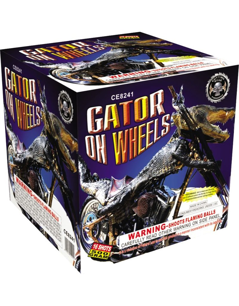 Cutting Edge Gator On Wheels - Case 4/1