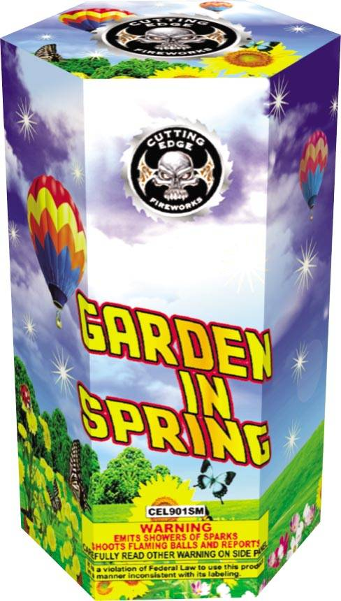 Cutting Edge Garden in Spring, CE - Case 40/1