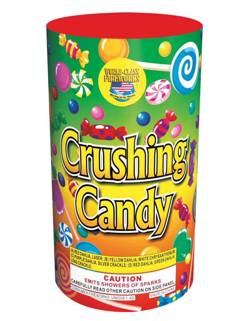 World Class Crushing Candy - Case 16/1