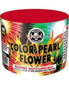 Color Pearl Flower 48s, CE