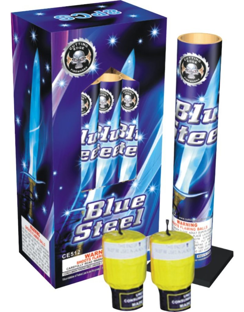 Cutting Edge Blue Steel 40 Gram Canister - 8 shells