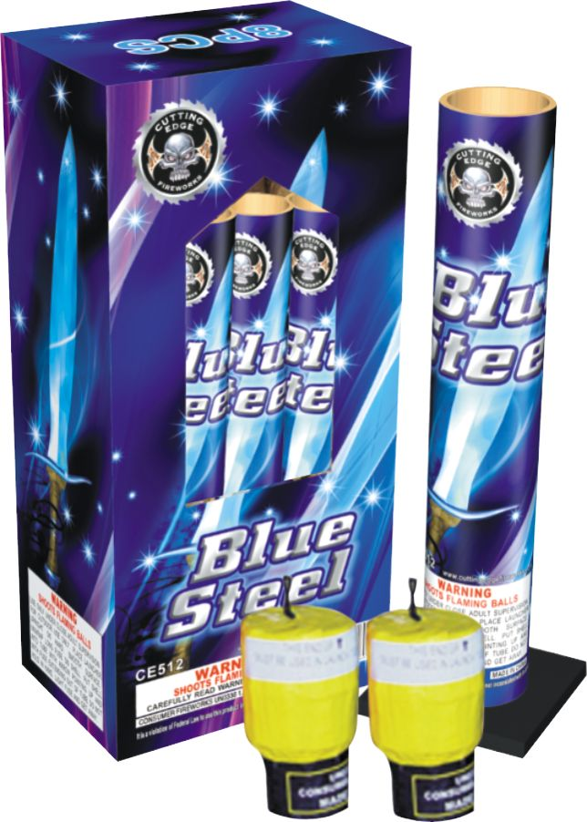 Cutting Edge Blue Steel 40 Gram Canister - Case 12/8