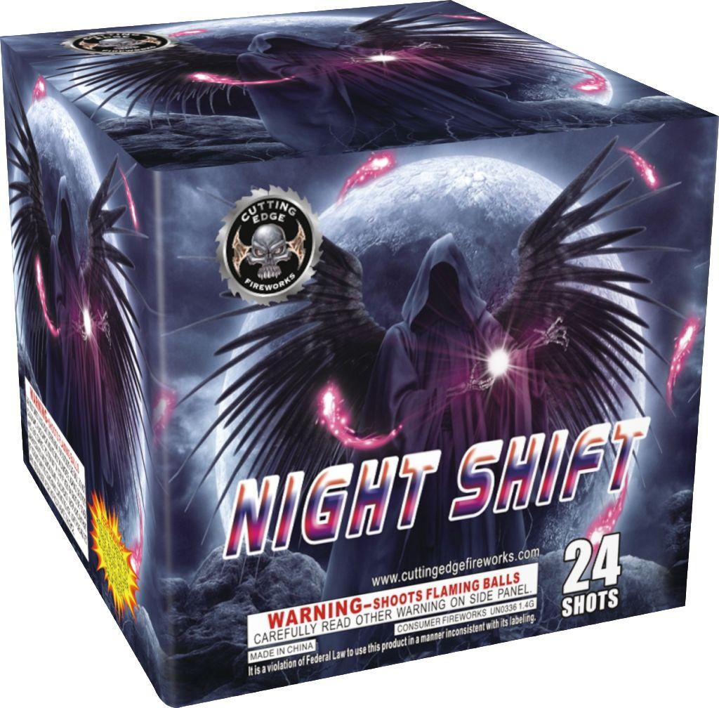 Cutting Edge Night Shift - Case 12/1