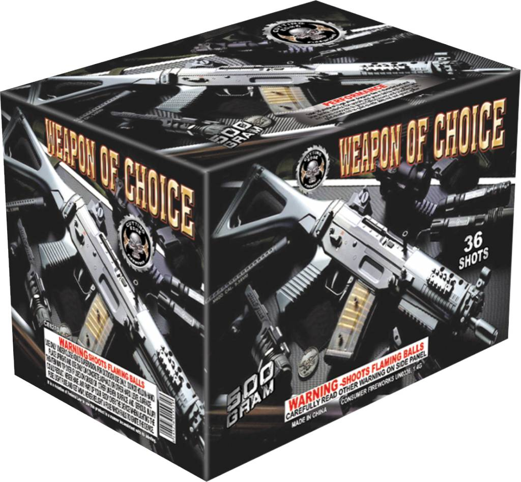 Cutting Edge Weapons of Choice - Case 4/1
