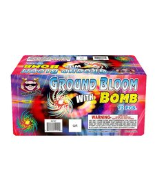 Ground Bloom Flower w/ Bomb - Brick 12/6