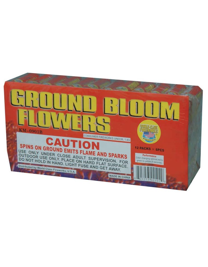 World Class Ground Bloom Flower, WC - Brick 12/6