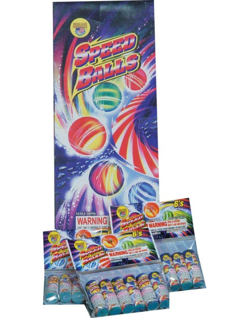 World Class Speed Balls - Box 24/6
