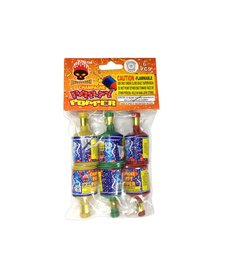 Champagne Party Poppers, BF - Pack 6/1