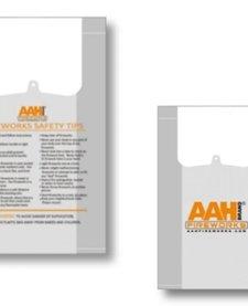 AAH Plastic Carry Bags - Case 500/1