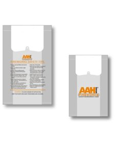 AAH Plastic Carry Bags - Case 500/1
