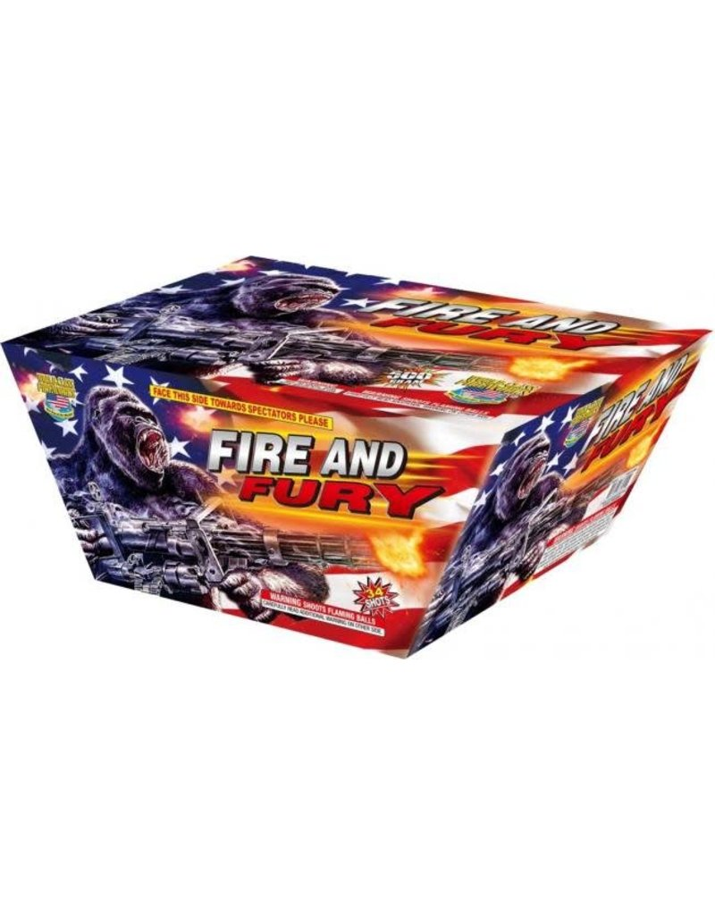 World Class Fire and Fury - Case 4/1