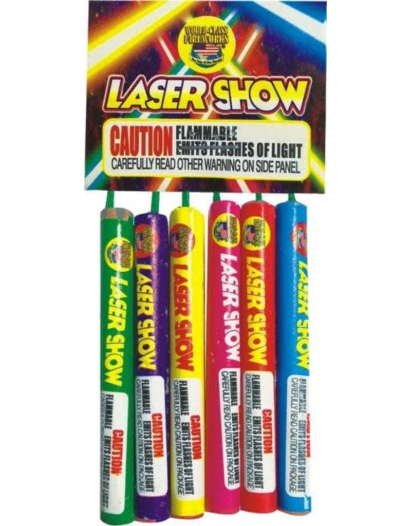 World Class Laser Show - Box 20/6