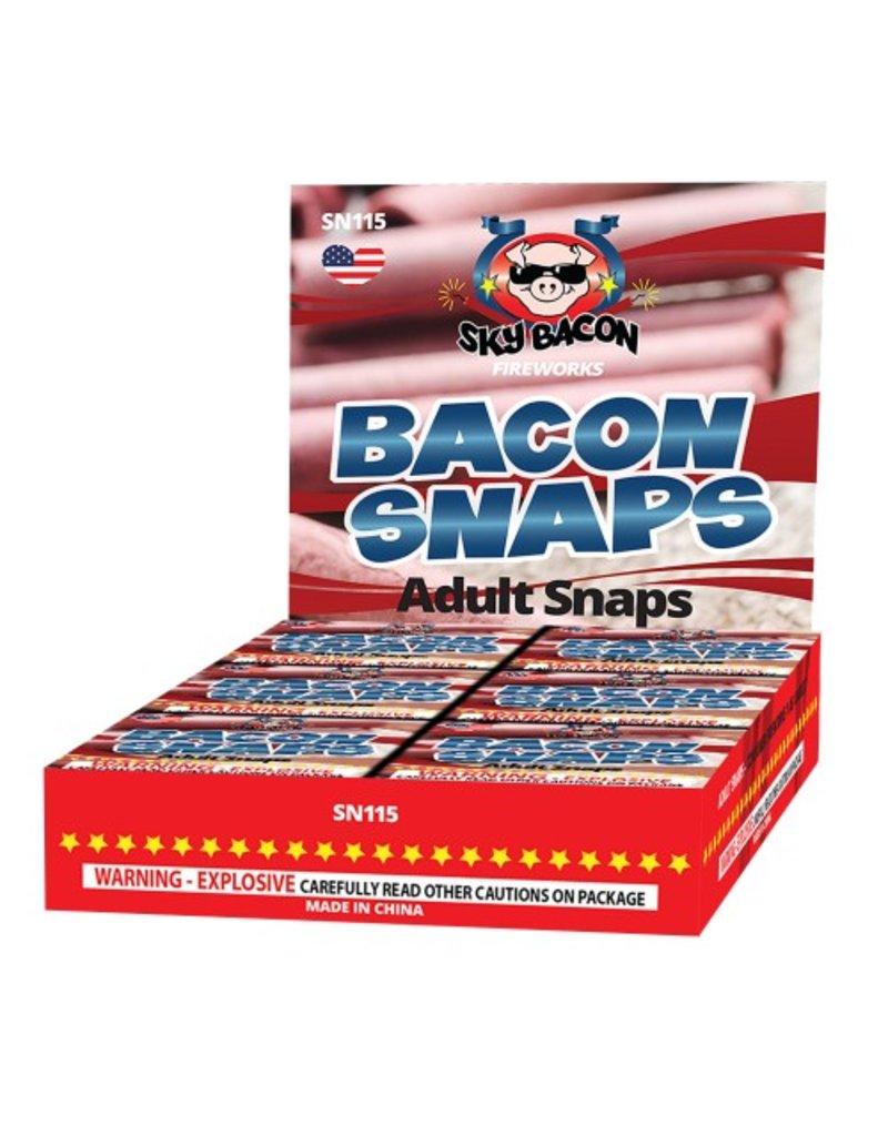 Sky Bacon Bacon Adult Snaps - Box 30/20