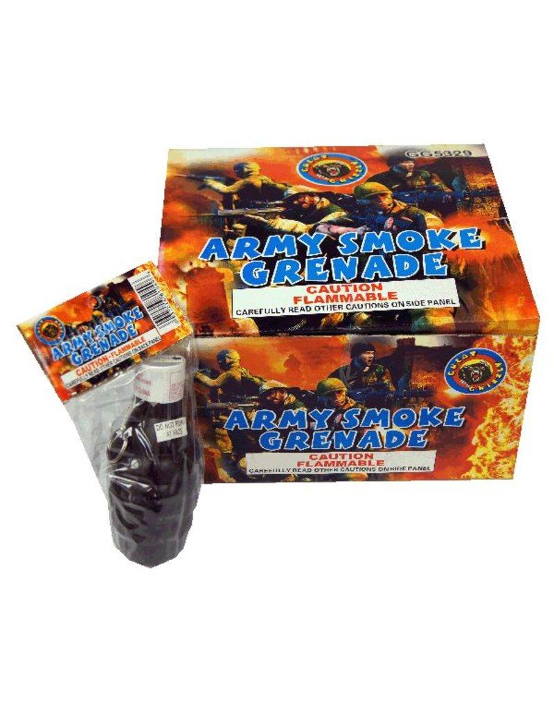 Army Smoke Grenade, GG