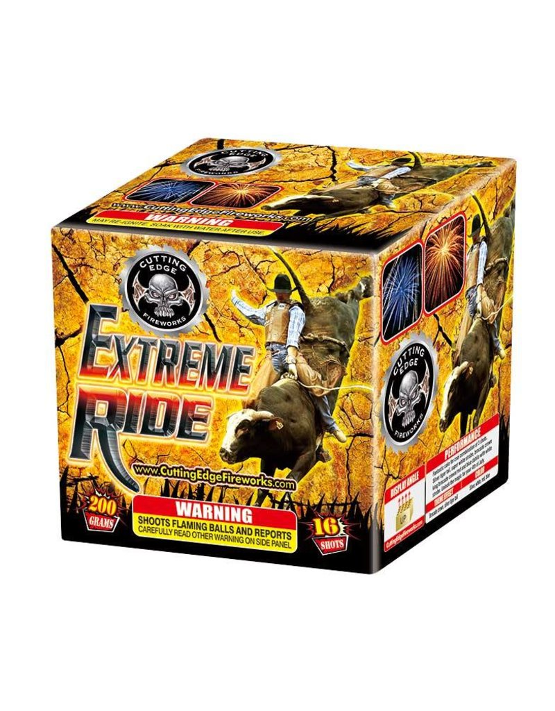 Cutting Edge Extreme Ride - Case 16/1