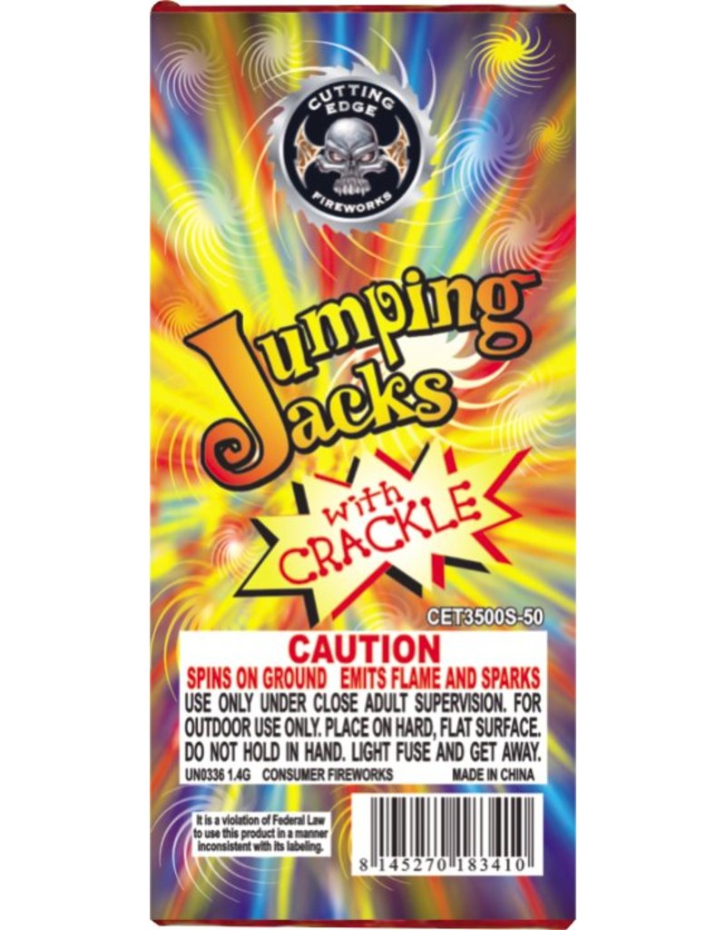 Cutting Edge Jumping Jack - Brick 12/50