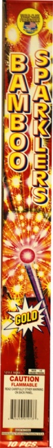 World Class Gold Sparklers 20'', WC - Case 4/12/12