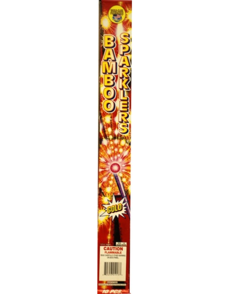 World Class Gold Sparklers 20'', WC - Box 12/1
